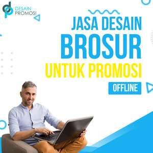 Jasa Desain Brosur untuk Promosi Offline