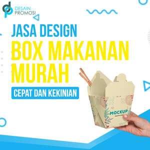 Jasa Desain Box Makanan: Murah, Cepat dan Kekinian