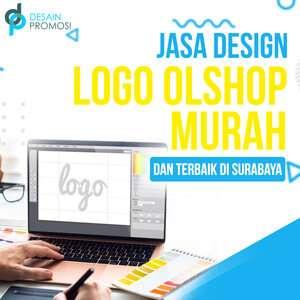 Jasa Desain Logo Olshop Murah, Unik dan Terbaik di Surabaya