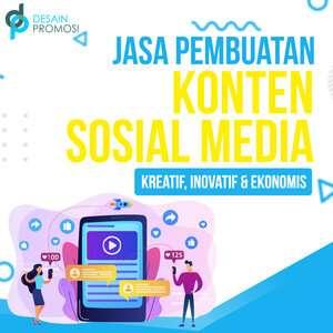 Jasa Pembuatan Konten Sosial Media: Kreatif, Inovatif, Ekonomis.