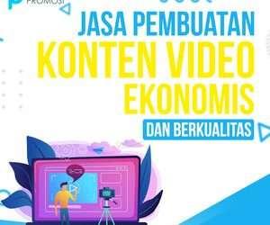 Jasa Pembuatan Konten Video: Ekonomis dan Berkualitas