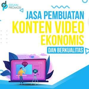 Jasa Pembuatan Konten Video Ekonomis dan Berkualitas