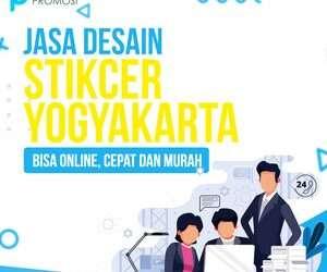 Jasa Desain Sticker Yogyakarta: Bisa Online, Cepat dan Murah