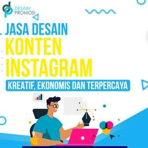 Jasa Desain Konten Instagram: Kreatif, Ekonomis dan Terpercaya